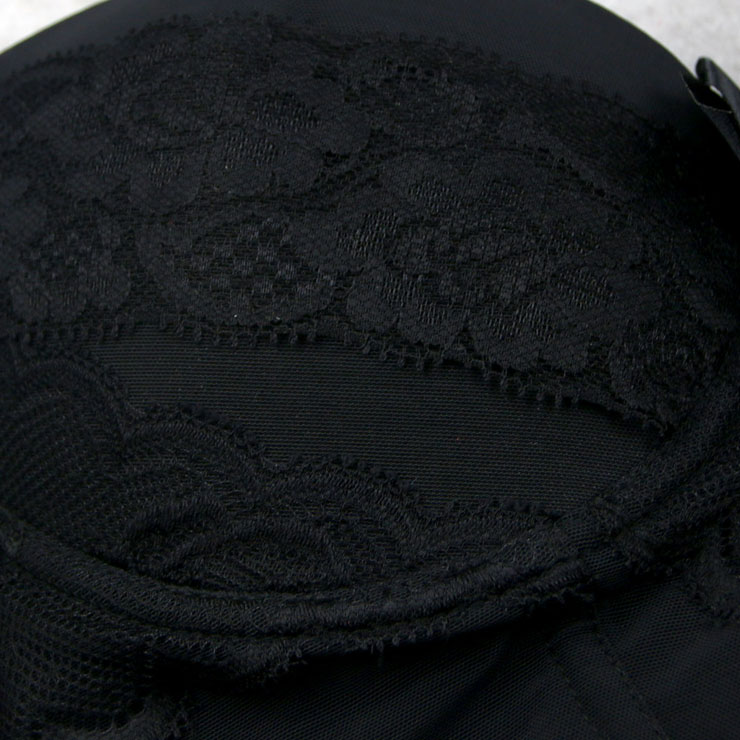 Sexy Black Bustier Corset, Fashion Body Shaper, Cheap Shapewear Corset, Womens Bustier Top, #N11283