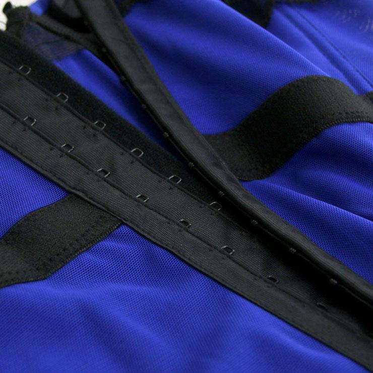 Sexy Blue Bustier Corset, Fashion Body Shaper, Cheap Shapewear Corset, Womens Bustier Top, #N11284