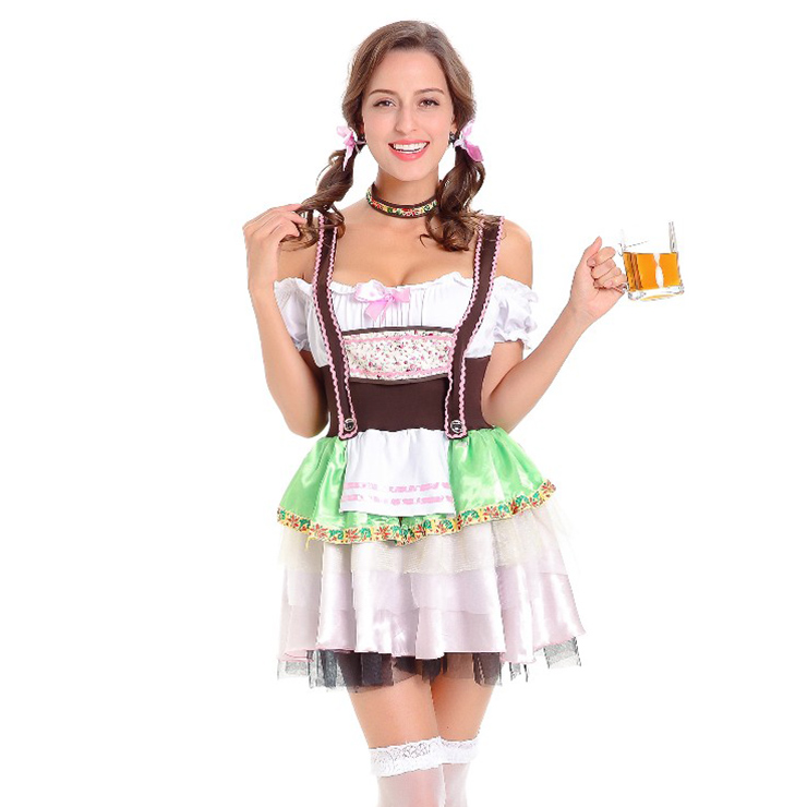 German Beer Beauty Oktoberfest Costume N14756