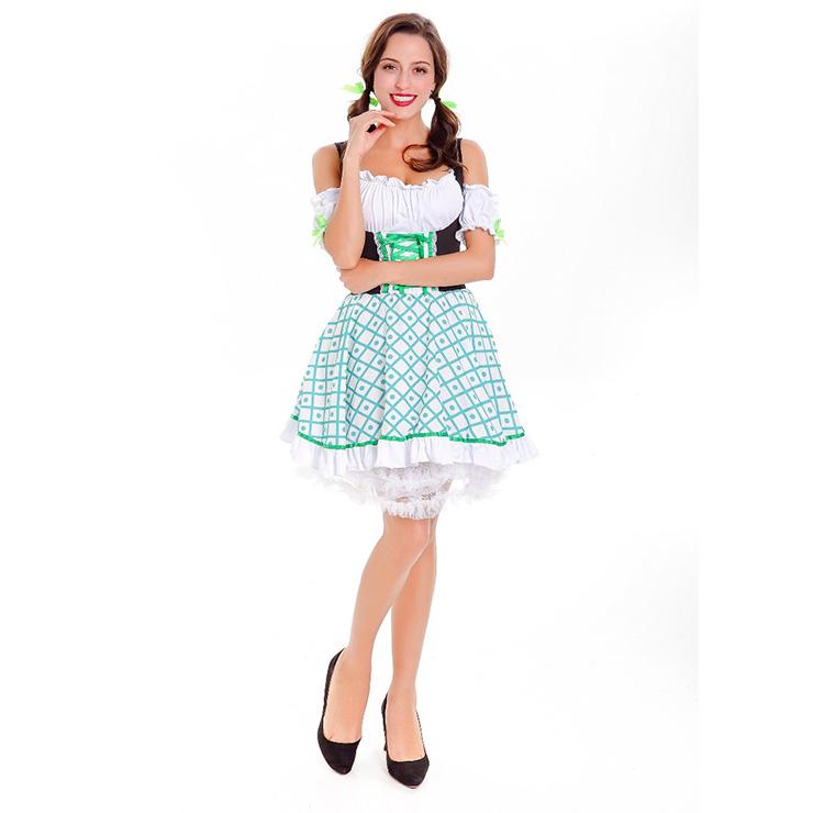 women's pretty clover st patrick's costume n14625