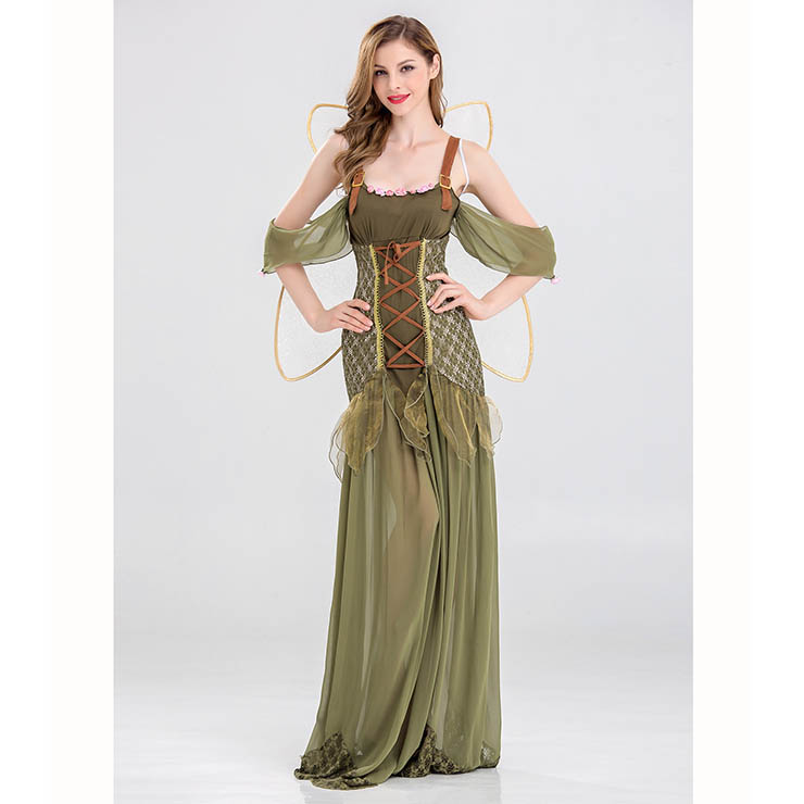 b9e00ce36bd Sexy Woodland Fairy Butterfly Cospaly Costume N14698