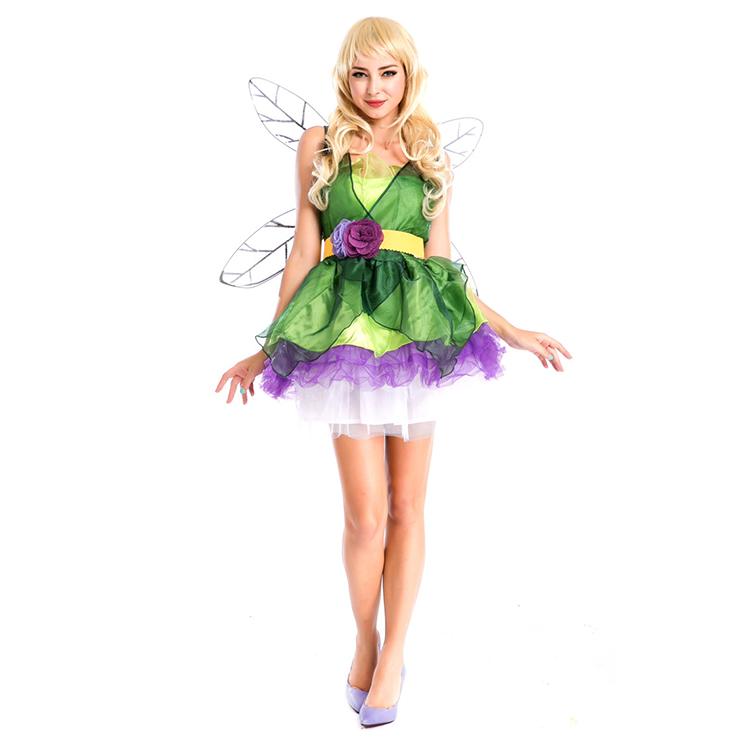Woodland Fairy Costume Green Adult N4275