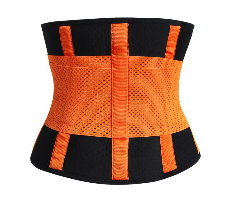 Waist Gym Trainer Corset, Waist Trainer Cincher Belt, Slimmer Body Shaper Belt, Cheap Sport Gym Waist Cincher Belt, Acrylic Bones Corset Belt, #N11054