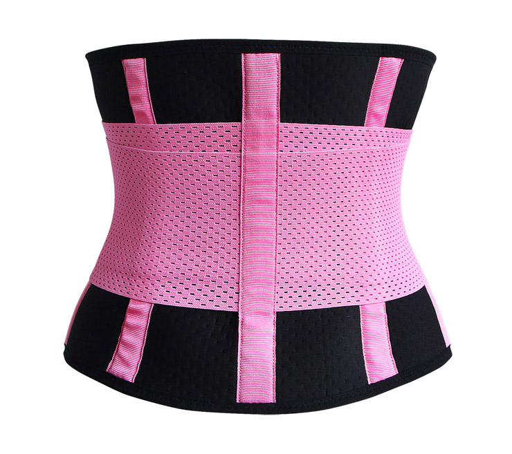 Waist Gym Trainer Corset, Waist Trainer Cincher Belt, Slimmer Body Shaper Belt, Cheap Sport Gym Waist Cincher Belt, Acrylic Bones Corset Belt, #N11052