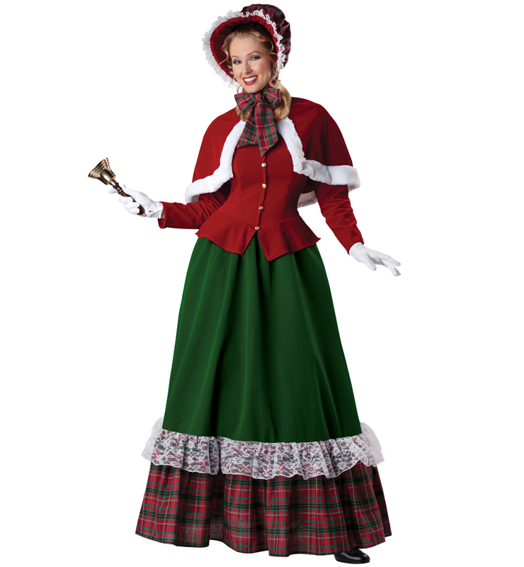 Yuletide Lady Adult Costume XT6312