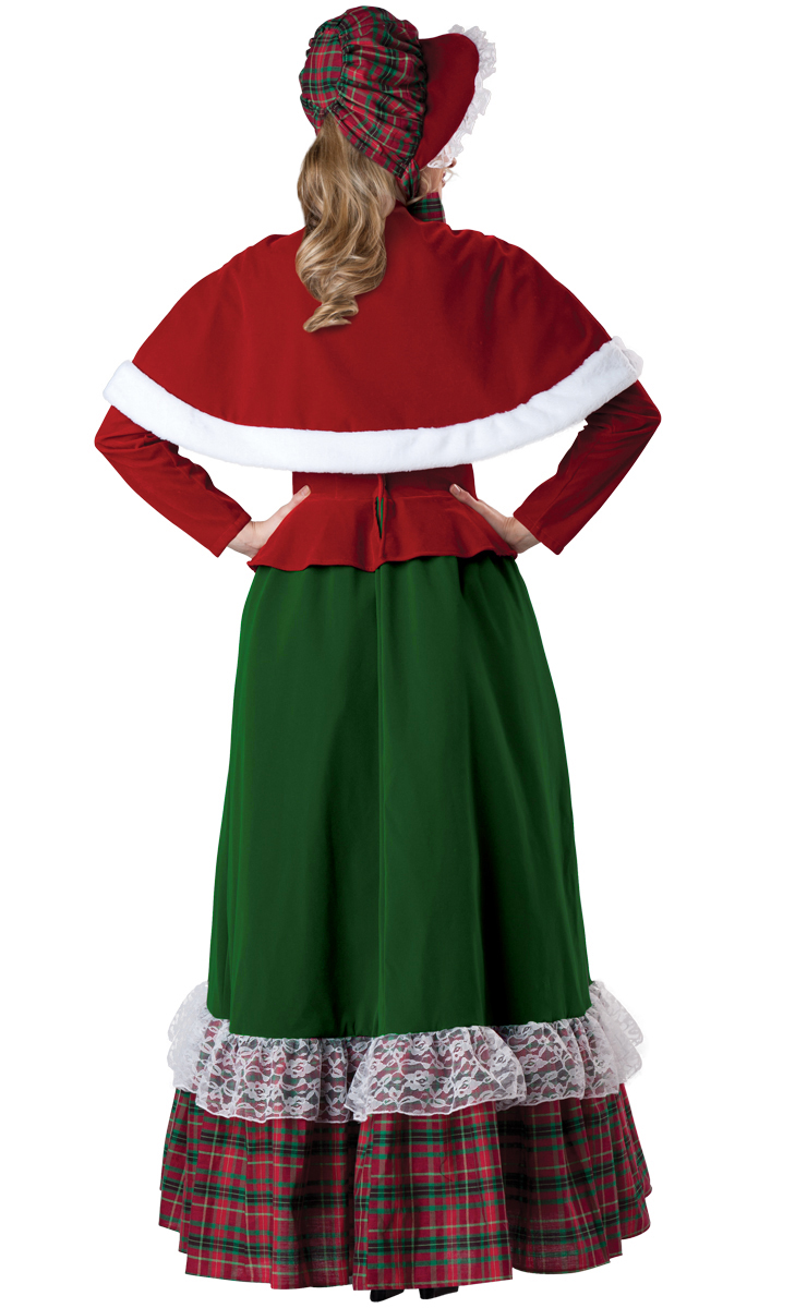 Yuletide Lady Adult Costume, Grinch Deluxe Costume, Fragile Costume, #XT6312