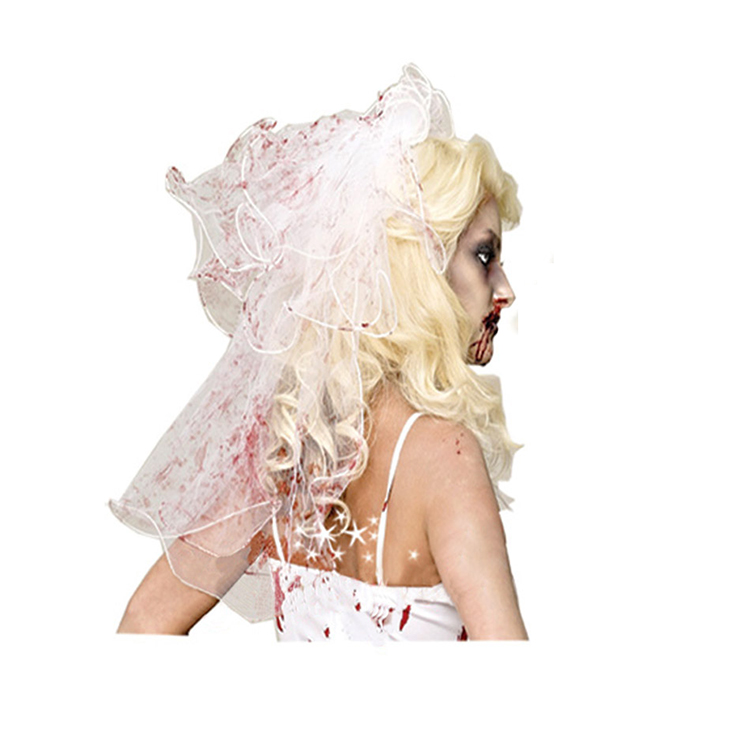Bloody Zombie Bride Dress Bride Costume N11801