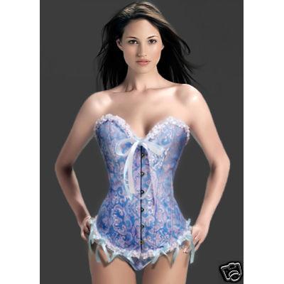 Brocade Corset, Duchess Burlesque Corset, Sexy Plus Size Corset, #N2333