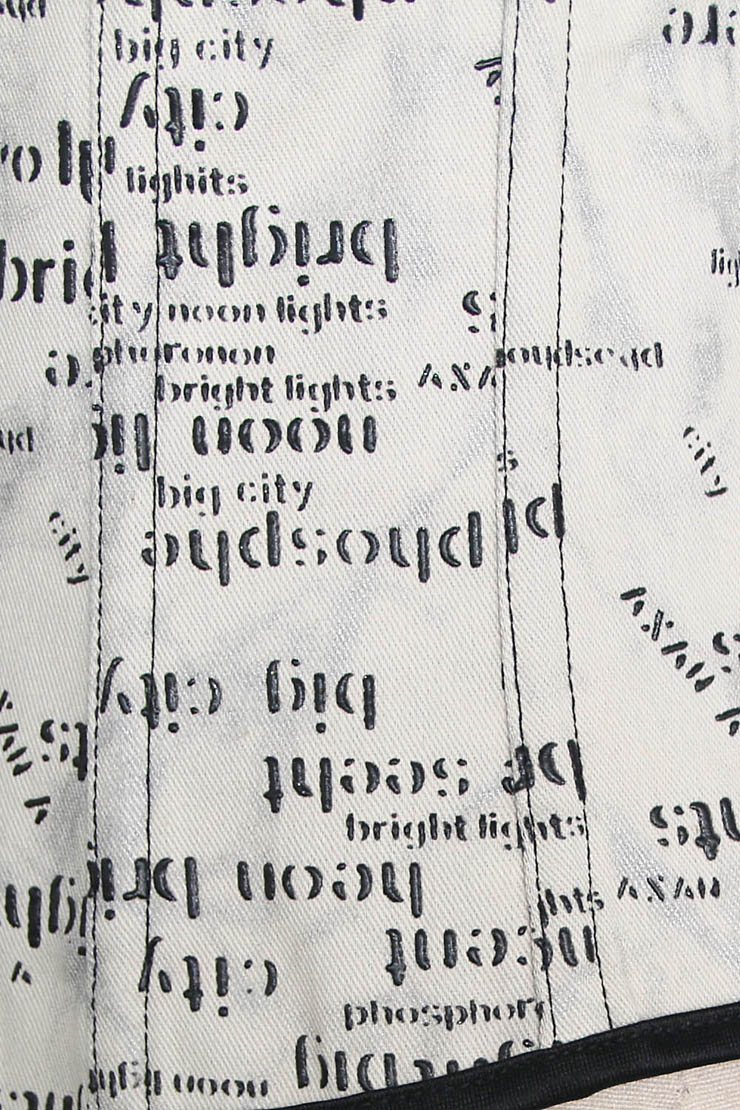 print word underbust corset, print underbust corset, Sexy print word underbust corset, #N4506