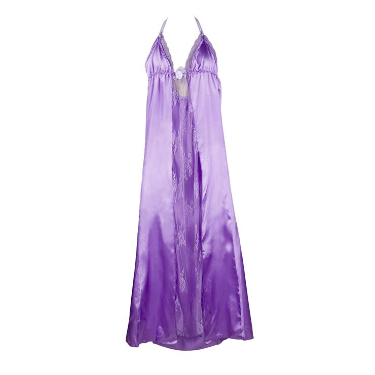 Romantic Purple Lingerie, Flirting Lingerie, Sexy Evening Gowns, Sexy Gowns, Purple Gowns, #W1158