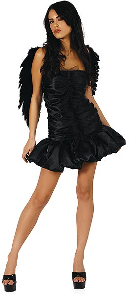Dark Naughty Angel Costume, Naughty Dark Angel Costume, Dark Angel Costume, #N1381