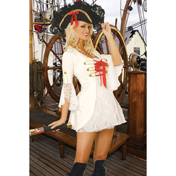 Pirate Costume, Adult Halloween Costumes, Sexy Pirate Captain Costume, #P1314
