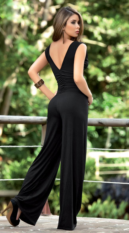Black Jumpsuit, Clubbing Jumpsuit, Clubwear Jumpsuit, #N2206