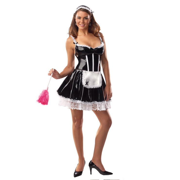 Sexy French Maid Costume, Naughty French Maid Costume, French Maid Outfit,  #M1427