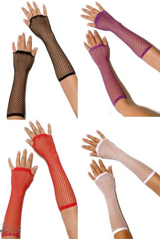 Как сделать длинную перчатку