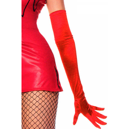 Sexy Gloves, Wedding Gloves, Satin Gloves, #HG0010