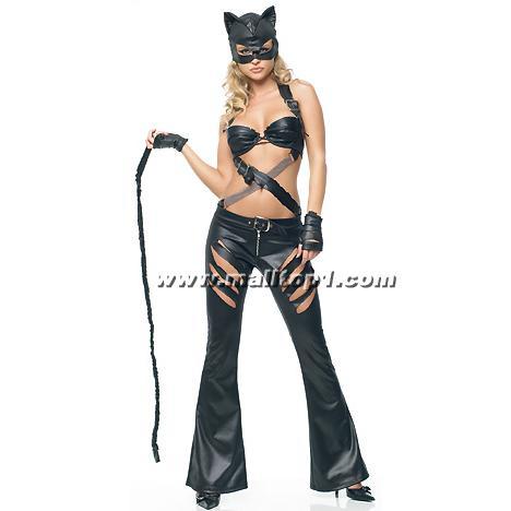 Как сделать костюм как у женщины кошки