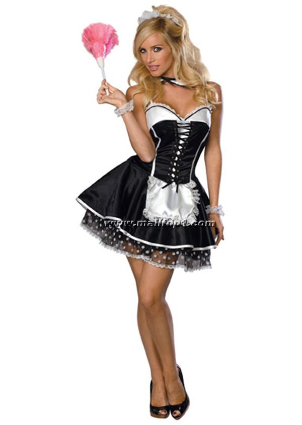 Sexy-Maid-costume-M3092