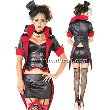 Devil Costume, Immortal Mistress Costume, Sexy Vampire Costume, #W2855