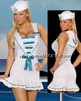 sexy-Marine-Navy-uniform-Sailor-M1523. Sexy Sailor Costume, Sexy Mermaid ...